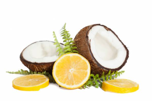 آبلیمو و شیر نارگیل برای مو